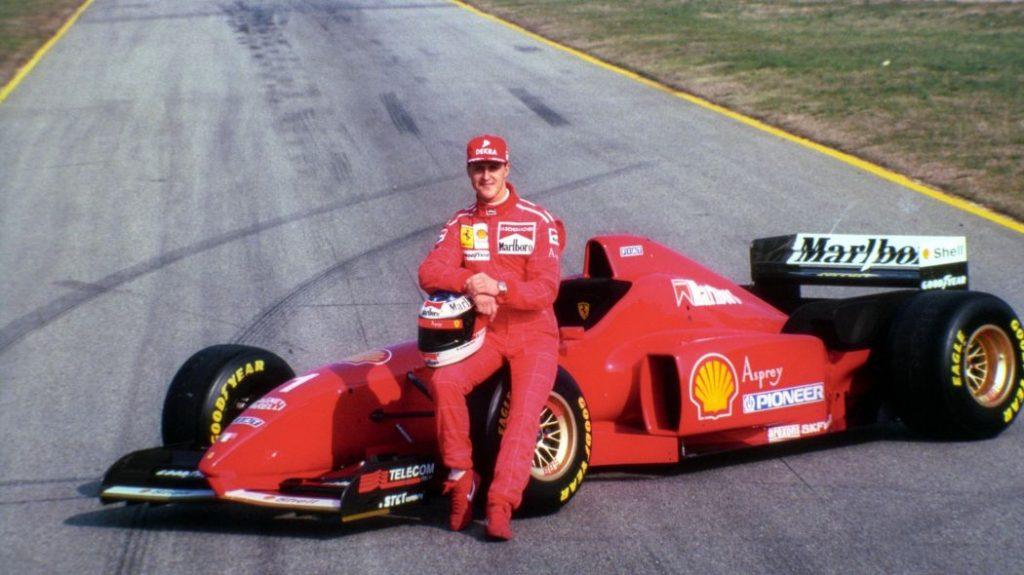 Schumacher Ferrari 1996