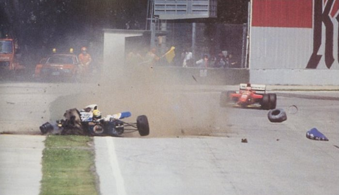 Senna accident Imola 1994